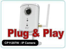 CP11207W : Wireless Mega-Pixel