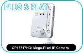Mega-Pixel IP Camera