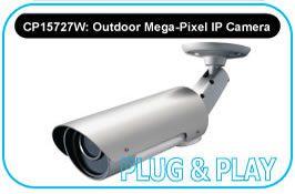 Outdoor Mega-pixel IP network camera