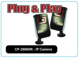 CP-296WIR : IP Camera
