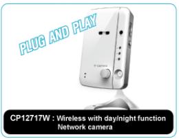 Wireless with day/night network camera