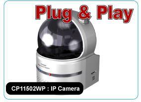 CP11502WP : Pan/Tilt H.264 IP Camera